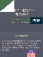 MEDIA, MODA y MEDIANA.ppt