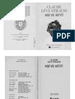 Claude Levi Strauss - Din Ve Buyu Yol Yayınları 1