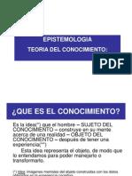 1 - Epistemología