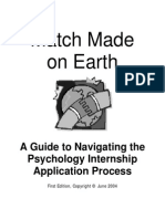 Internship Workbook
