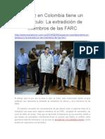 La Paz en Colombia Tiene Un Obstáculo