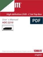 Ecolite HDC_2210 Manual