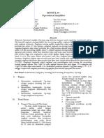 Laporanoperationalamplifierop Amp 140318225548 Phpapp02