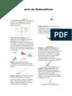 Glosario de Matemáticas
