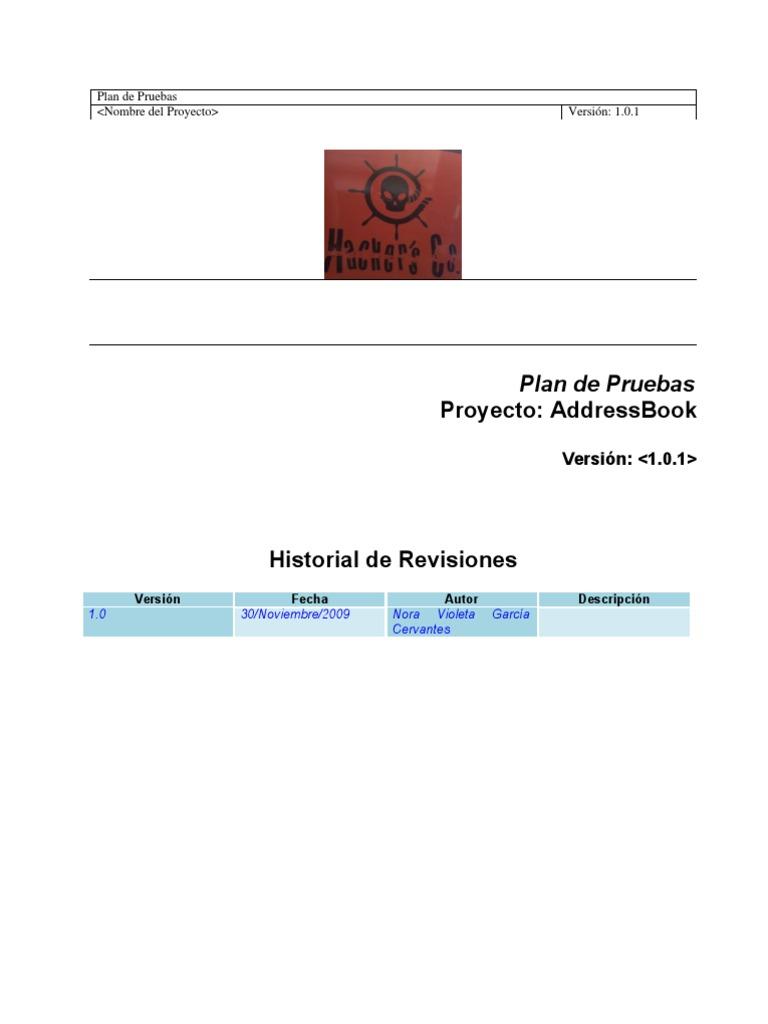 Plan De Pruebas - SoftwareMac