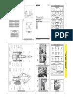 Plano Hidraulico Excavator 385C