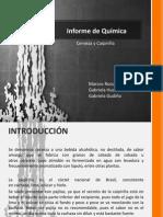 Informe de Química - Cerveza y Caipiriña