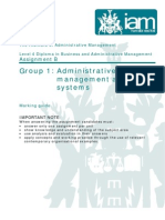 IAM Diploma L4 Group 1 Assignment B Marking Guide