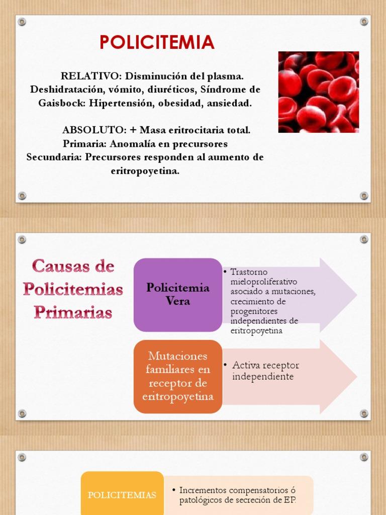 La eritropoyetina causa hipertensión