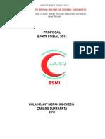 Proposal Baksos 2011 Bsmi