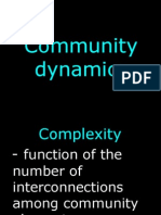 Community Dynamics-Ecosystem Function