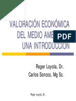 valoracion metodo costos