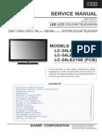 Sharp Lc-24le210-220e_led Tv Sm