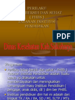 Phbs Tatanan Sekolah 2010