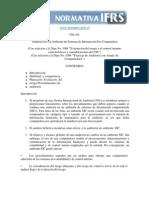 NIA 401 Auditoria en Un Ambiente de Sistemas de Información Por Computadora (1)