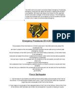 Emergancy Procedures