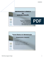 Administracao Classica - Revisao
