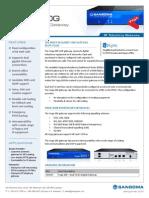 Sangoma Vega 200G Digital Gateway Datasheet
