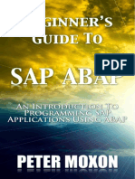Beginner's Guide to Sap Abap