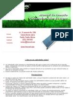Teecsol Manual de Armado Calentadores Solares