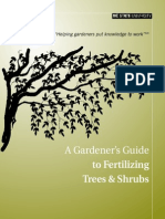 Guide to Fertilizing Tree and Shrubs