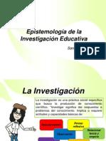 1.0 Epistemología de La Investigación Educativa