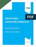 01 DNS en Windows