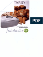 recetario maquina de hacer pan nex