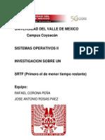 SRTF sistemas operativos