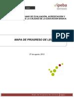 Mapa de Progreso -IPEBA 2012