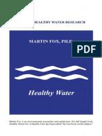 Healthy Water Booklet(Full)
