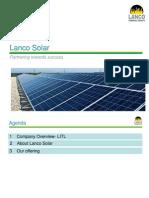 Lanco Solar RPSSGP Mailer