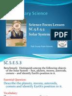 sc 5 e 5 3  solar system