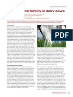 paper Nutrition and Fertility Dairy Cows