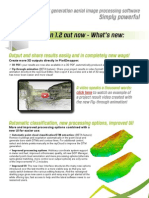 Pix4Dmapper V1.2 Info Feature List