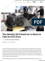 This (Mostly) 3D-Printed Car is About to Take Its First Drive _ Motherboard