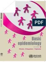 Basic Epidemiology by Bonta, Beaglehole & Kellstrom, 2nd edition 2006