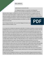 Diálogo Con Paulo Freire