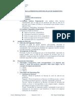 Estructura Del Plan de Marketing 2014 Giovanna