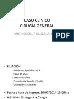 CASO CLINICO Cirugia General