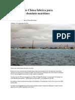 Las Islas Que China Fabrica Para Extender Su Dominio Marítimo