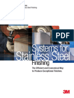 3M Finishing Systems for StainlessSteel Brochure