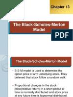 The Black-Scholes-Merton Model