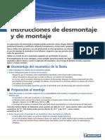 Instrucciones de Desmontaje y de Montaje