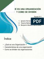 Qué Es Una Organización y Como Se
