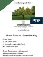 Green Banking activities