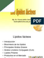 Los Lipidos Lacteos