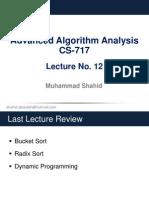 CS717 - Lecture 12
