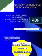 Admin Negocios Clase Inaugural