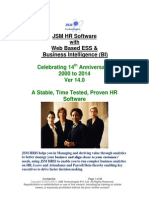 JSM HR Software With Business Intelligence